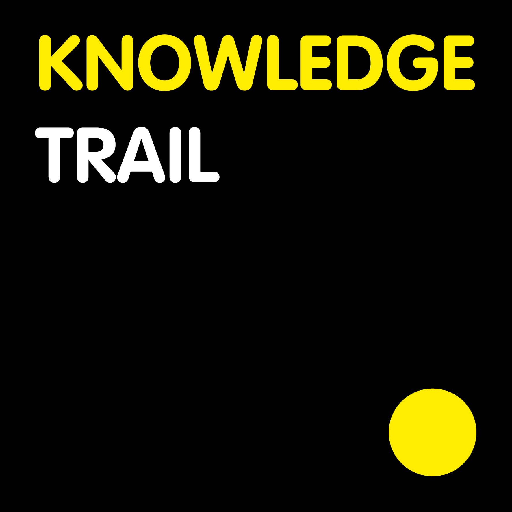 Logo knowledge trail